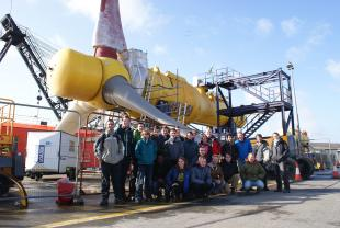IDCORE Researchers during Orkney field trip