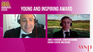 James Ferguson SGEA20 Award